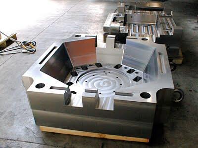 Molde de aço para injeção plástica