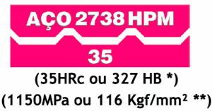 Aço 2738 HPM35