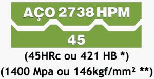 Aço 2738 HPM405