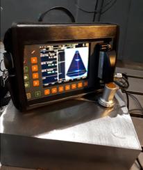 Ultrassom que facilita a participação do operador para identificar o defeito.